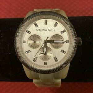 Michael Kors Ritz Sand Expresso Watch